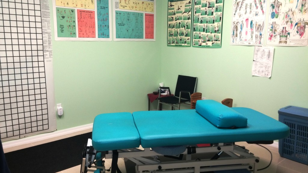Clinical Touch Massage Office with Comfort Craft Table