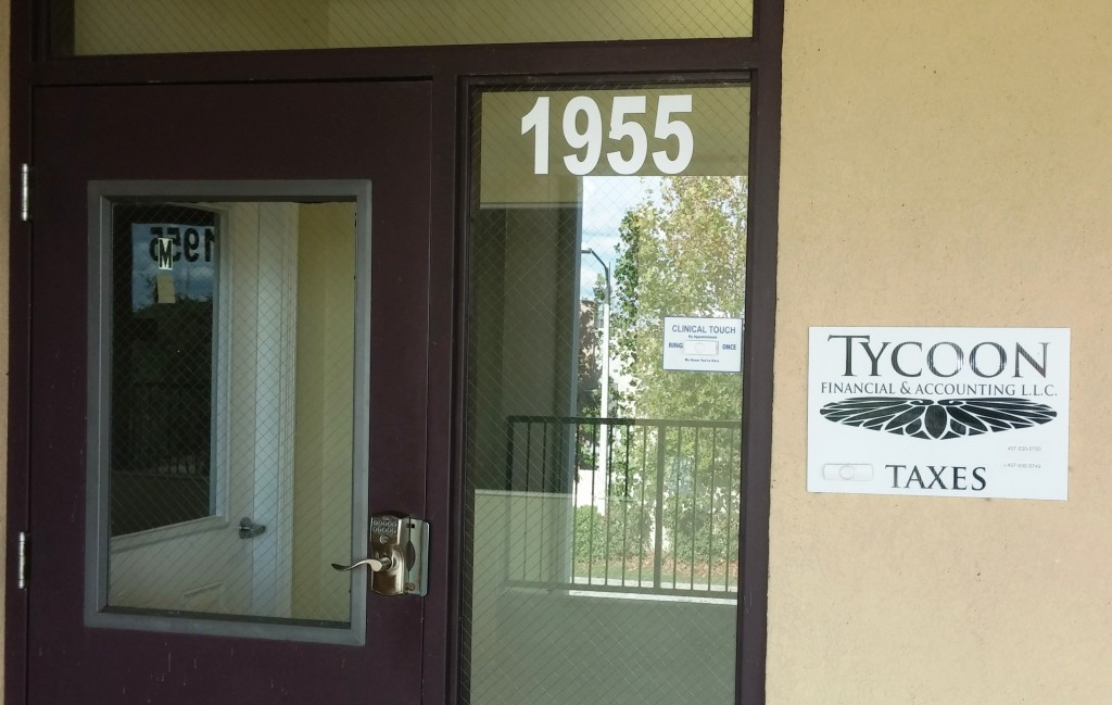 Front Entrance Clinical Touch Massage